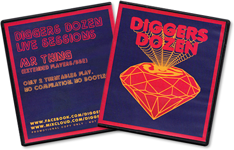 Mr Thing - Diggers Dozen Live Sessions CD
